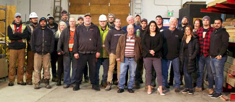 Berto Contractors Staff